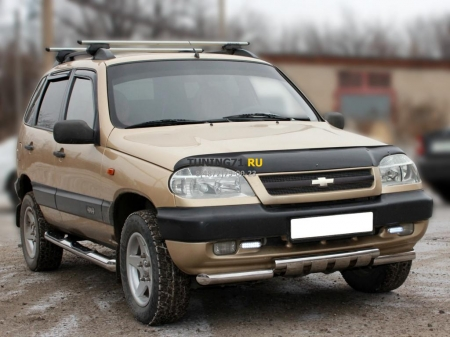 Chevrolet Niva 2009-наст.вр.-Пороги d-76 степ